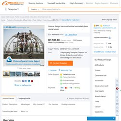 Unique Design Low Cost Hollow Laminated Glass Dome House - Buy Dome House,Hollow Laminated Glass,Glass Dome House Product on Alibaba.com