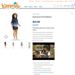 Lammily Fashion Doll - Exclusive First Edition