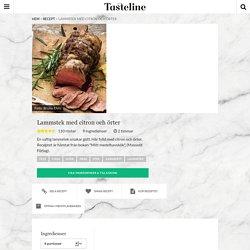 Lammstek med citron och örter - Recept - Tasteline.com