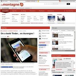 On a testé Tinder... en Auvergne!