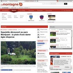 Squelette découvert au parc Montjuzet : la piste d'une dame âgée disparue