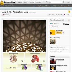 Lamp X - The Atmospheric Lamp