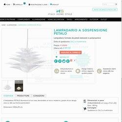 LAMPADARIO A SOSPENSIONE PETALO - Italy Home Style
