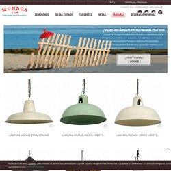 Lámparas vintage, lámparas industriales y retro - Mundda - MUNDDA