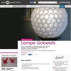 Lampe Gobelets - Meubles et objets