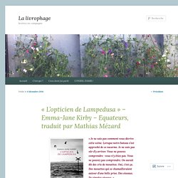 L'opticien de Lampedusa  (La livrophage)