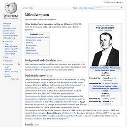Miles Lampson
