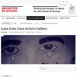 Lana from Gaza Artist's Gallery