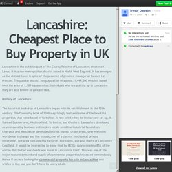 Lancashire: Cheapest Place to Buy Property in UK