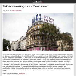 Tati lance son comparateur d'assurances