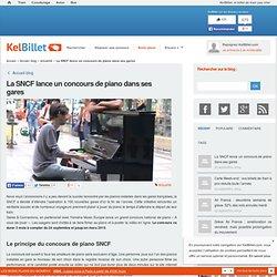 La SNCF lance un concours de piano dans ses gares