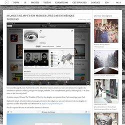 JR lance une app et son premier livre d'art numérique pour iPad