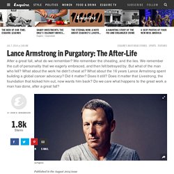 Lance in Purgatory: The After-Life