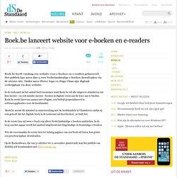 De Standaard Online - Boek.be lanceert website voor e-boeken en e-readers