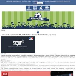 Lancement de l'application mobile SAIP / L'actu du Ministère