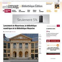 Mazarinum. Bibliothèque Mazarine. XVème - XIXème. 2.400 incunables