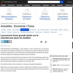 REUTERS 02/07/19 Lancement d'une grande étude sur le chlordécone dans les Antilles