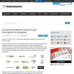 [Lancement] CitéGreen, la start-up qui récompense les éco-gestes