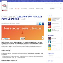 Concours Ton Podcast Pour l'Égalité ! - 2020