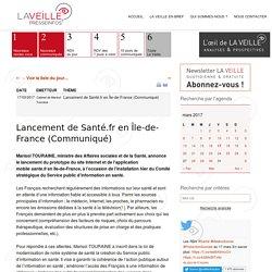Lancement de Santé.fr en Île-de-France (Communiqué)