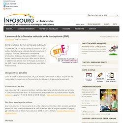 Lancement de la Semaine nationale de la francophonie (SNF)