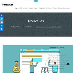 ✅ Le lancement d'un site internet, quoi & comment faire ...
