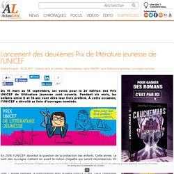 Lancement des deuxièmes Prix de littérature jeunesse de l'UNICEF