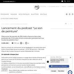 """Lancement du podcast """"Le son de peinture"""""""