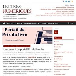 Lancement du portail Prixdulivre.be