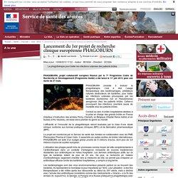 Lancement du 1er projet de recherche clinique européenne PHAGOBURN