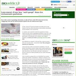 """BIOADDICT 18/01/16 Lancement d'une box """"anti-gaspi"""" dans les restaurants parisiens"""