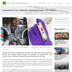 Lancement d'une batterie «révolutionnaire» en France