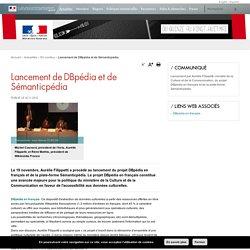 Lancement de DBpédia et de Sémanticpédia