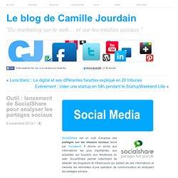 Outil : lancement de SocialShare pour analyser les partages sociaux