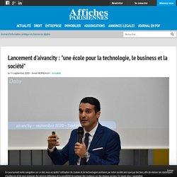 """Lancement d'aivancity : """"une école pour la technologie, le business et la société"""""""