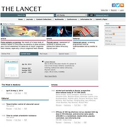 The Lancet : Volume 376, Number 9758, 18 December 2010