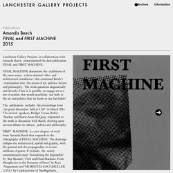 Lanchester Gallery Projects