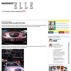 La Lancia ELLE au salon de l'auto - Blog