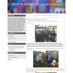 """""""Land art"""" couleur d'automne - ."""