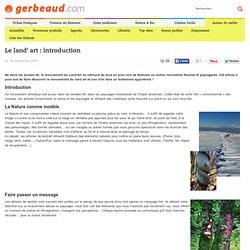 Land'art : introduction