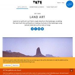 Land art – Art Term