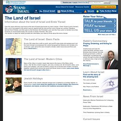 Stand for Israel: Land of Israel: Stand for Israel