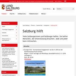 Land Salzburg - Salzburg hilft