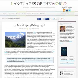3D-landcape, 3D-language?