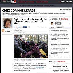 Notre-Dame-des-Landes: l'Etat coincé par ses concessions à Vinci