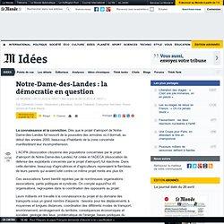 Notre-Dame-des-Landes : la démocratie en question