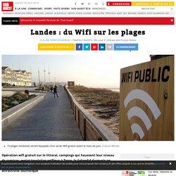 Landes : du Wifi sur les plages