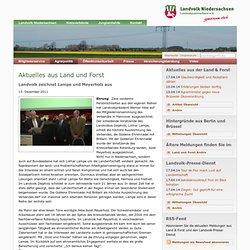zeichnet Lampe und Meyerholz aus — Landvolk Niedersachsen - Landesbauernverband e.V.