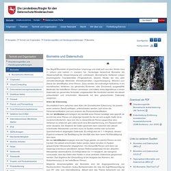 Die Landesbeauftragte für den Datenschutz Niedersachsen