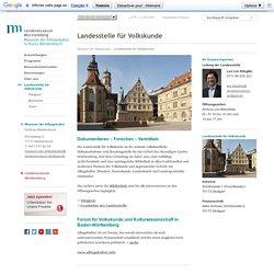 Landesstelle für Volkskunde - Schloss Waldenbuch